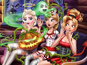 Disney Spooky Cabin Halloween