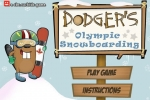 Dodger's Olympic Snowboarding