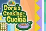 Dora The Eplorer Dora's Cooking in La Cucina