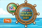 Dora The Explorer Pirate Boat Treasure Hunt