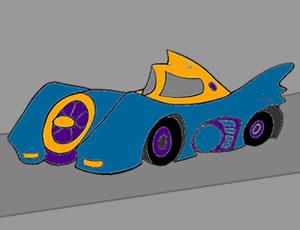 Drawing Batman Car