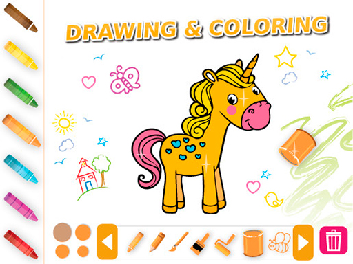 Drawing & Coloring Animals