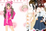 Dressup The Girl In Pink