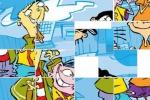 Ed, Edd N' Eddy Slider Puzzle