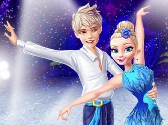 Ellie and Jack Ice Dancing