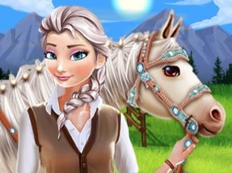 Elsa Horse Caring