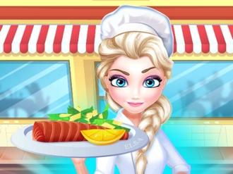 Elsa Restaurant Oven Baked Salmon