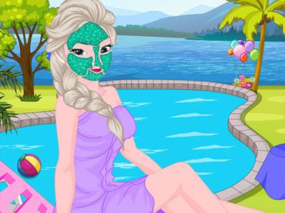 Elsa Summer Beauty Secret Makeover