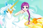 Fairy And The Unicorn Dress-up