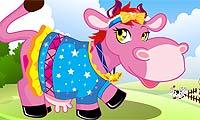 Farm Cow Dress Up