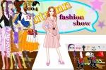 Fashion Show Model Dress Up