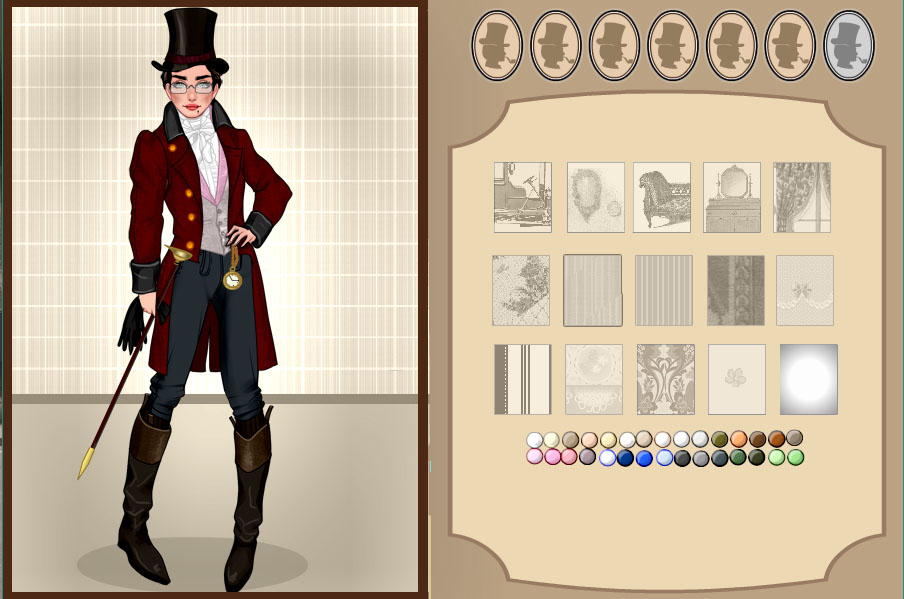 Female Dandy Fashion dress up game