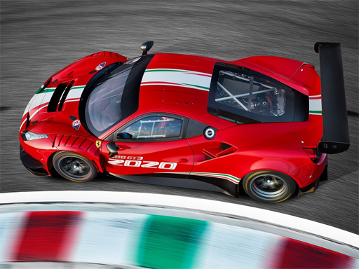 Ferrari 488 GT3 Evo Puzzle