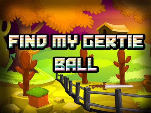Find My Gertie Ball