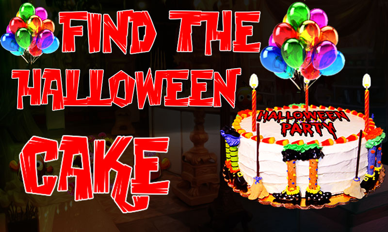 Find The Halloween Cake