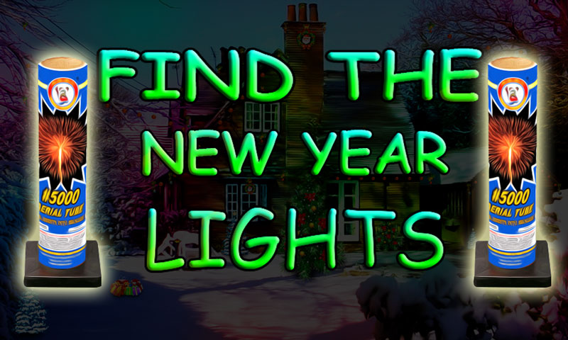 Find The New Year Lights