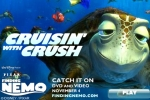 Finding Nemo Cruisin' with Crush
