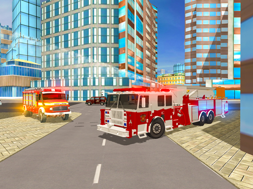 Fire City Truck Rescue Driving Simulator