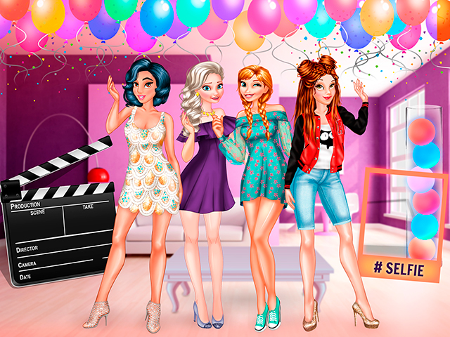 First Party Host: Princess Style