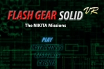 Flash Gear Solid VR The Nikita Missions