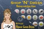 Flower Gown Dress Matching