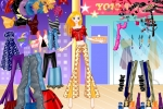 Funky Disco Fashion Girl Dress Up