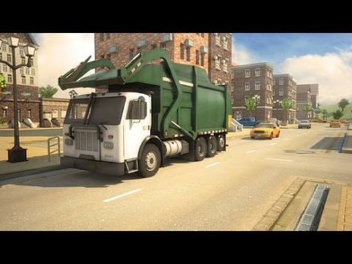 Garbage Truck City Simulator
