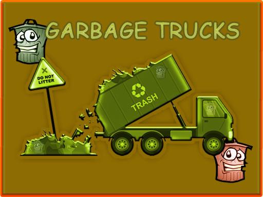 Garbage Trucks Hidden Trash Can