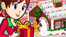 Gingerbread House: Sara