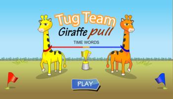 Giraffe Pull Time