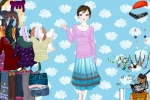 Girl In The Clouds Dress-up