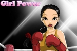 Girl Power Boxing Girl Dressup