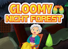 Gloomy Night Forest