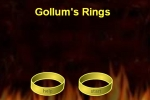Gollums Rings Lotr