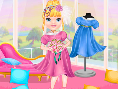 Gorgeous Little Princess Dress Up