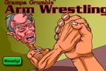 Grampa Grumble Arm Wrestling