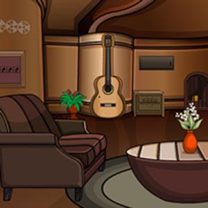 Guitar house escape