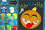 Halloween Creepy Online Colouring