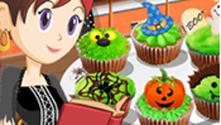 Halloween Cupcakes: Sara