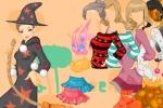 Halloween Elegant Girl Dress Up