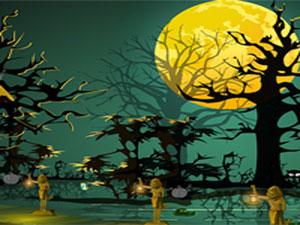 Halloween house escape 2