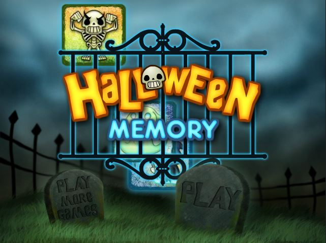 Halloween Memory For Kids