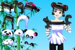 Happy Fun Panda Dressup