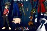 Harry Potter Cartoon Dress Up