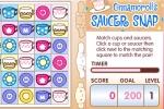 Hello Kitty Cinnamoroll's Saucer Snap