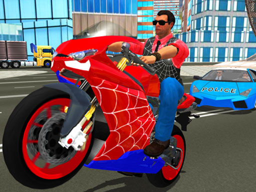 Hero Stunt Spider Bike Simulator 3d