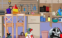 Hidden Objects Garage Room