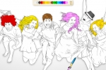 High School Musical 3 Online Coloring