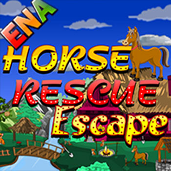 Horse Rescue Escape