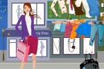 Hot Fashion Shopping Girl Dress Up
